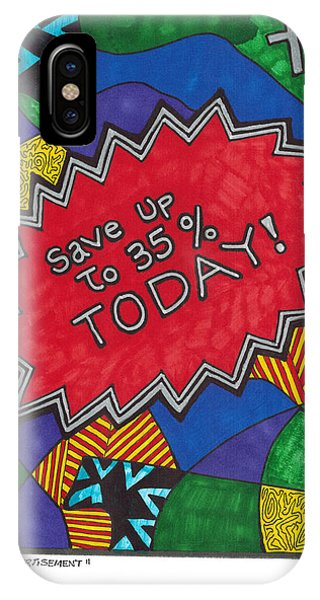 Abstract iPhone Case - Special Advertisement by Jerry Conner