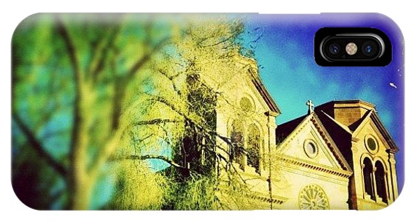 St. Francis Cathedral IPhone Case