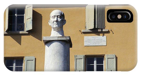 Statue Of Marconi IPhone Case