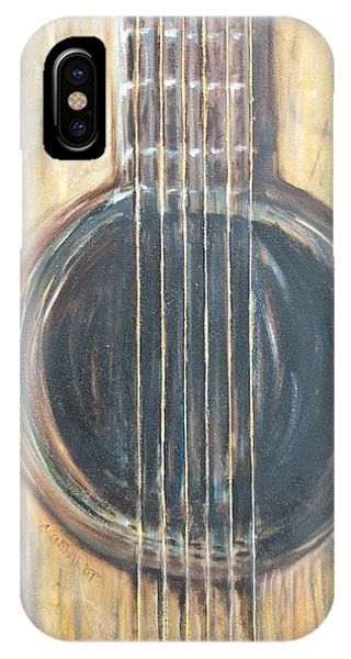 Strings Acoustic Sound IPhone Case
