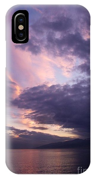 Sunset At Messina IPhone Case