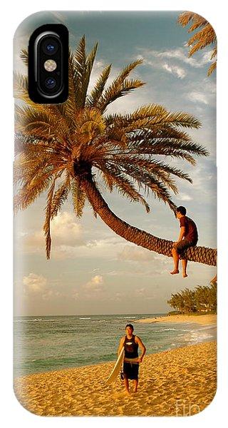 Sunset Beach Oahu IPhone Case
