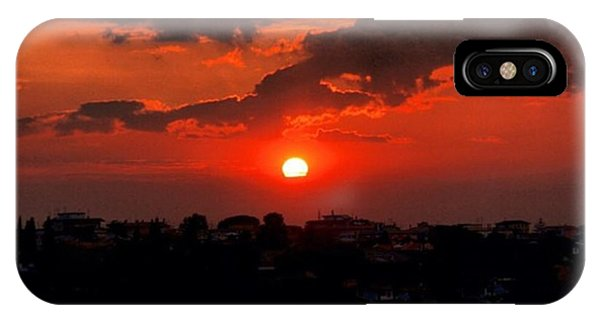 Sunset iPhone Case - Sunset by Luisa Azzolini