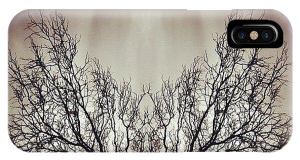 Edit iPhone Case - #symmetry #symmetrical #mirror by James Peto