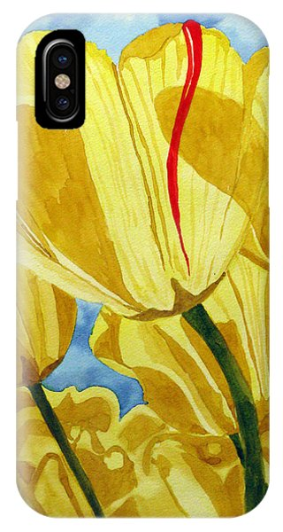Tender Tulips IPhone Case
