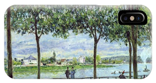 Avenue iPhone Case - The Avenue Of Chestnut Trees by Alfred Sisley