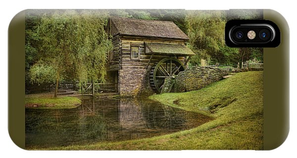 The Bromley Mill At Cuttalossa Farm IPhone Case