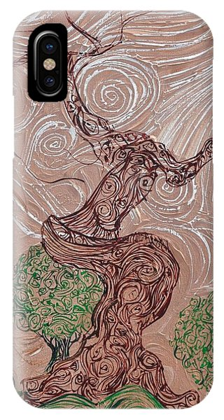 The Earthen Tree IPhone Case