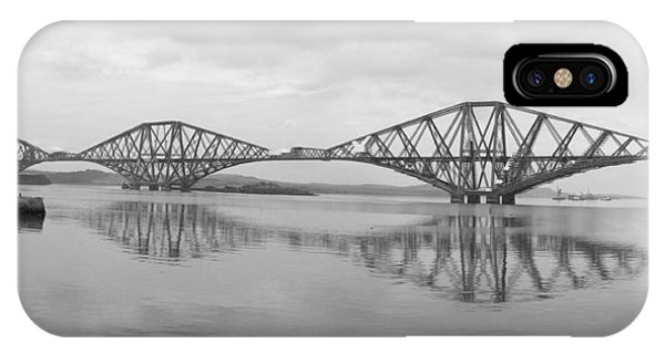 Trestle iPhone Case - The Forth - Scotland by Mike McGlothlen