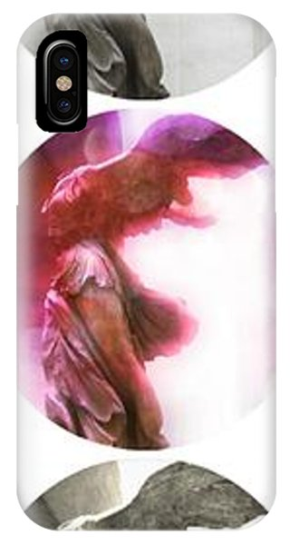 The Louvre iPhone Case - The Winged Victory - Paris - Louvre by Marianna Mills