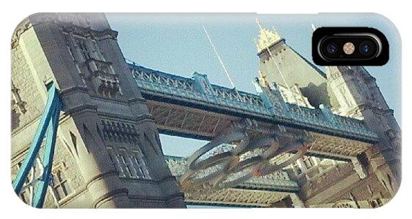 London Bridge iPhone Case - Tower Bridge And The Olympic Rings by Lynda Larbi