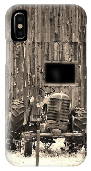 Tractor And The Barn IPhone Case