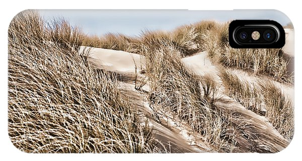 Oregon Sand Dunes iPhone Case - Tranquility by Bonnie Bruno