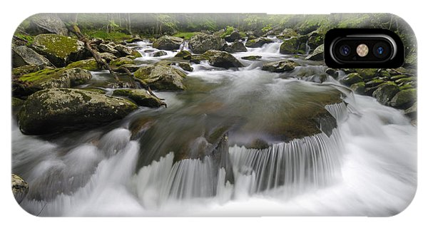 Tremont Spring In Great Smoky Mountains Phone Case by Darrell Young