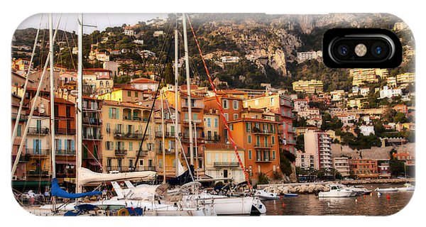 IPhone Case featuring the photograph Villefranche-sur-mer  by Steven Sparks