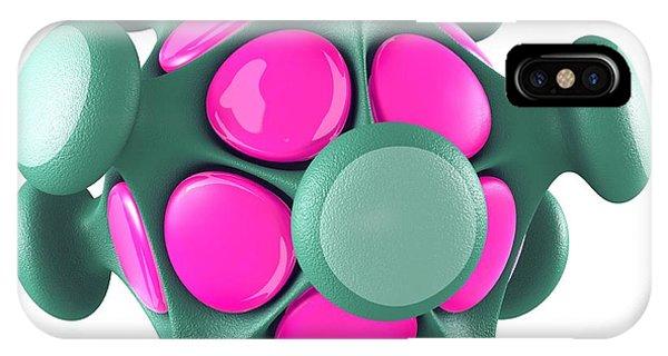 Virus Particle, Conceptual Image Phone Case by Laguna Design