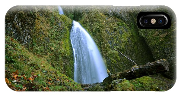 IPhone Case featuring the photograph Wahkeena Falls 02 by Matt Hanson