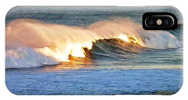 Wave At Sunrise IPhone Case