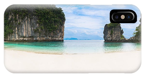 White Sandy Beach In Thailand IPhone Case