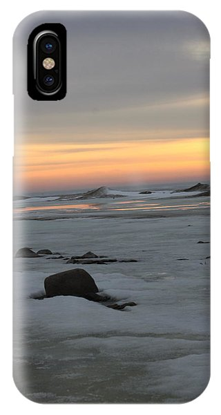 Winter Evening Lights IPhone Case