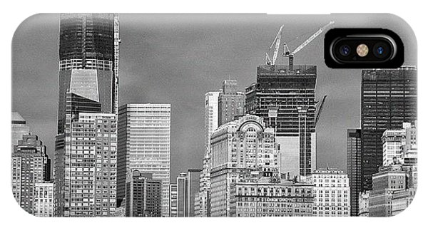 School iPhone Case - Wtc - New York by Joel Lopez