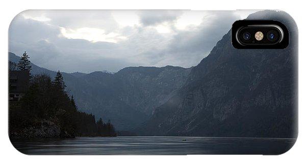 Lake Bohinj At Dusk IPhone Case