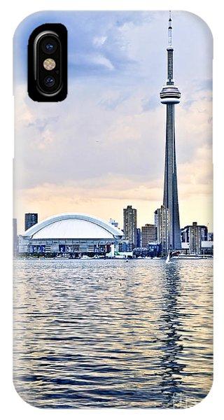 Cityscape iPhone Case - Toronto Skyline by Elena Elisseeva