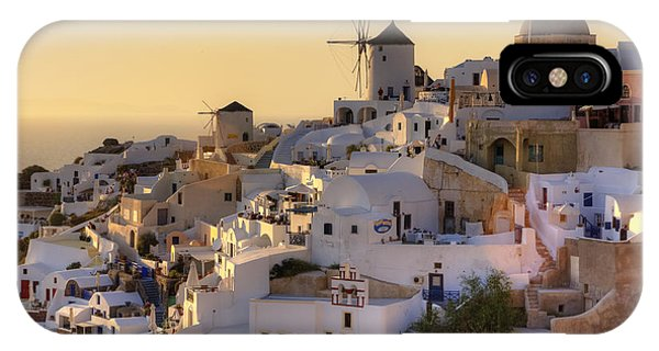 Greece iPhone Case - Oia - Santorini by Joana Kruse