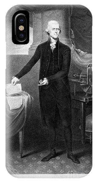 Thomas Jefferson (1743-1826) IPhone Case