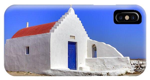 Greece iPhone X Case - Mykonos by Joana Kruse