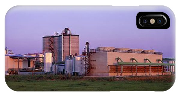 Corn Ethanol Processing Plant Phone Case by David Nunuk