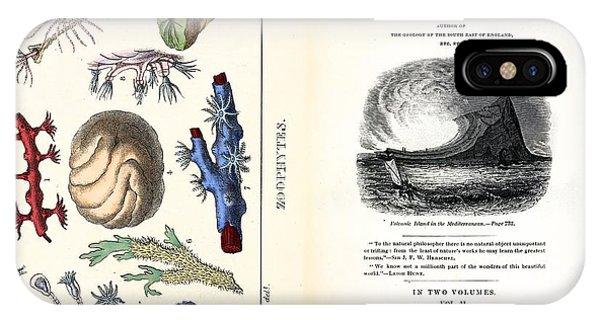 1838 Frontis Mantell \wonders Of Geology\ Phone Case by Paul D Stewart