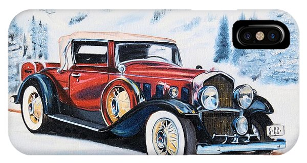 1931 La Salle Convertible Coupe IPhone Case