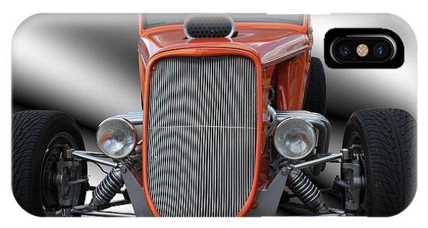 1933 Ford Roadster - Hotrod Version Of Scream IPhone Case