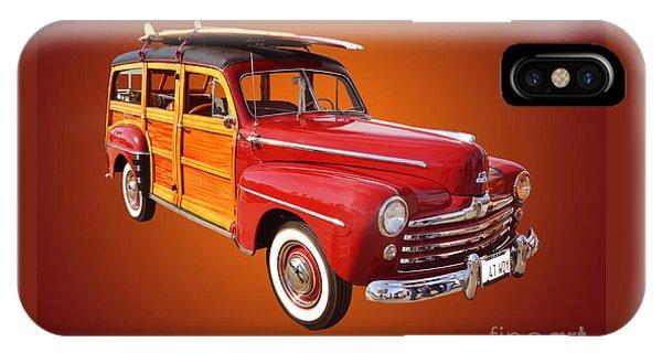1947 Woody IPhone Case