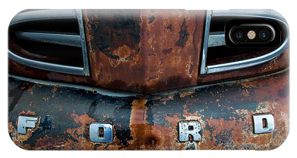 IPhone Case featuring the photograph 1948 Ford by Fran Riley