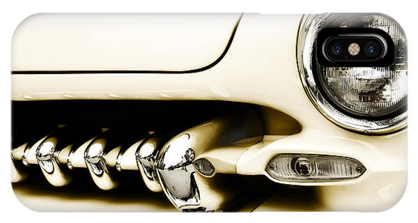 Chrome iPhone Case - 1949 Mercury by Scott Norris