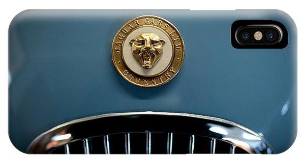 1952 Jaguar Hood Ornament IPhone Case