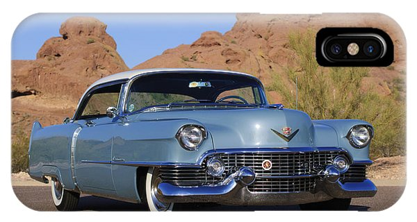 Coupe iPhone Case - 1954 Cadillac Coupe Deville by Jill Reger