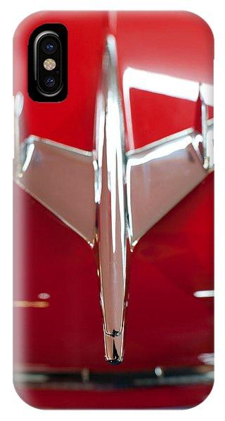 1955 Chevy Belair Hood Ornament IPhone Case