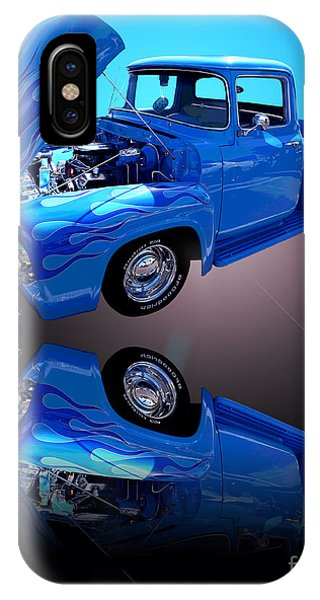 1956 Ford Blue Pick-up IPhone Case