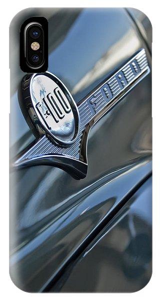 1956 Ford F-100 Truck Emblem 2 IPhone Case