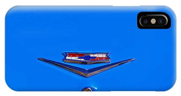 1960 Chevy Bel Air Trunk Emblem IPhone Case