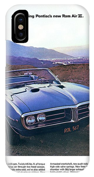 1969 Pontiac Firebird iPhone Cases | Fine Art America