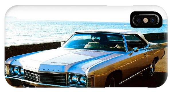 1971 Chevrolet Impala Convertible IPhone Case