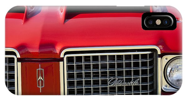 1972 iPhone Case - 1972 Oldsmobile Grille by Jill Reger