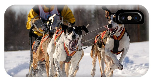 2011 Limited North American Sled Dog Race IPhone Case