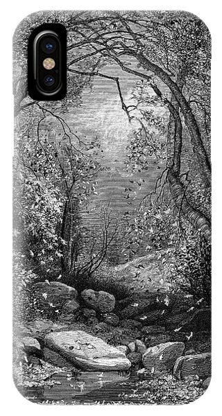 Jervis iPhone Case - Autumn, 1873 by Granger