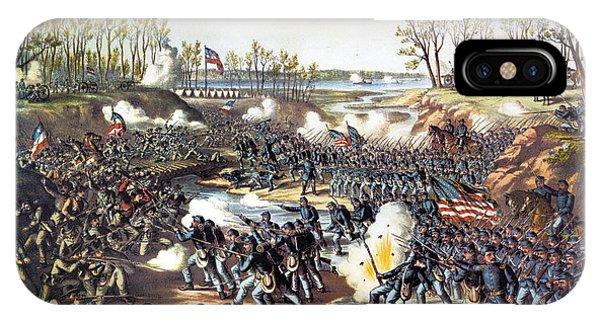 Allison iPhone Case - Battle Of Shiloh, 1862 by Granger