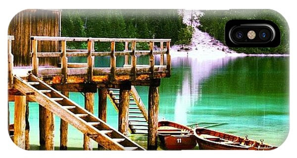 Beautiful Landscape iPhone Case - Braies by Luisa Azzolini